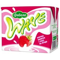 Мляко UHT Фибела ягода 500ml