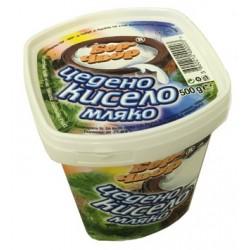 Кисело мляко Бор Чвор цедено 500g