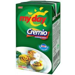 Сметана за готвене с растителни мазнини Cremio My Day 500ml
