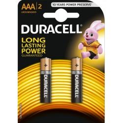 Батерия Duracell AAA 2бр.