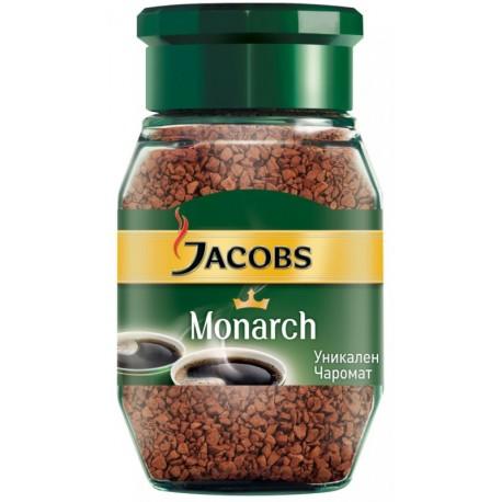 Кафе Якобс монарх буркан 0,100