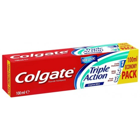 Паста за зъби Colgate Triple Action 100ml