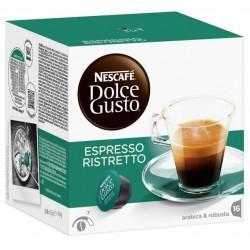 КАФЕ NESCAFE DOLCE GUSTO ESPRESSO RISTRETTO 16бр.x6,5g