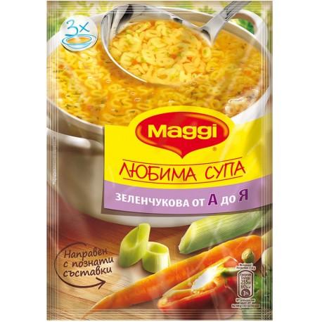 Зеленчукова супа от А до Я 53g Maggi