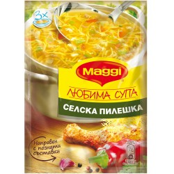 Селска пилешка супа Maggi 46g Любима супа