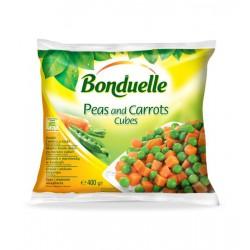Замразен грах с моркови на кубчета Bonduelle 400g