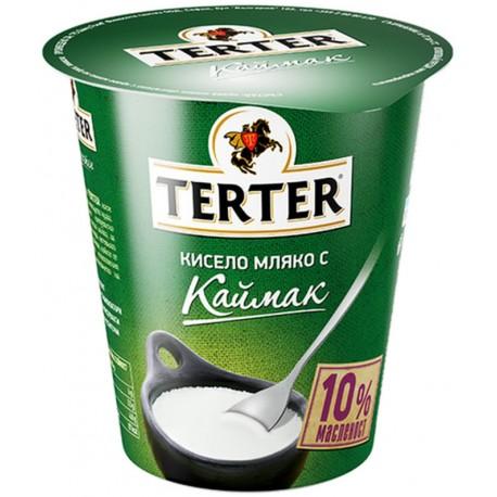 КИСЕЛО МЛЯКО С КАЙМАК 10% TERTER 300g