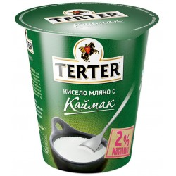 КИСЕЛО МЛЯКО С КАЙМАК 2% TERTER 300g