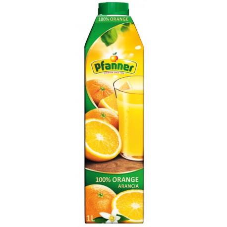 Сок Pfanner портокал 100% 1l