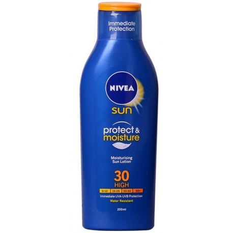 Лосион NIVEA слънцезащитен Хидратиращ SPF30 200ml