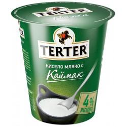 КИСЕЛО МЛЯКО С КАЙМАК 4% TERTER 300g