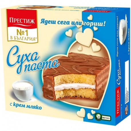 СУХА ПАСТА ПРЕСТИЖ МЛЕЧЕН КРЕМ 10бр. х 30g