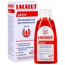 Вода за уста LACALUT Anti-plaque 300ml