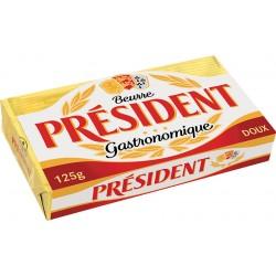 Краве маслo President пакет 125g