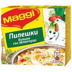 Бульон Пилешки със зеленчуци 80g Maggi