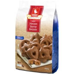 WEISS Мини шоко меденки с млечен шоколад 400g