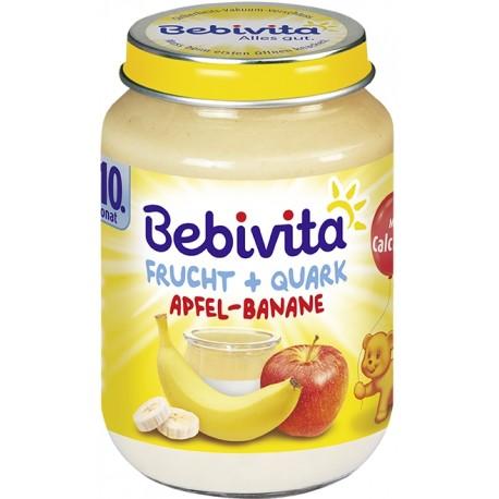 Bebivita плодов дует ябълка банан и извара 0.200