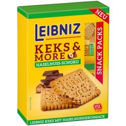 Бисквити Лешници&Шоколад Leibniz BAHLSEN 155g