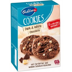Бисквити Cookies Тъмен и бял шоколад BAHLSEN 150g