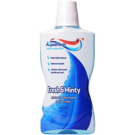 Вода за уста Aquafresh Fresh/Mint 500ml