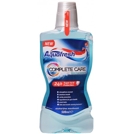 Вода за уста Aquafresh Complete Care 500ml