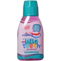 Вода за уста детска Aquafresh Big Teeth (6+) 300ml