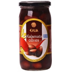 Маслини Elia Каламата с костилка 360g
