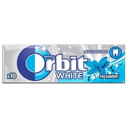 Дъвки Orbit White freshmint драже 10бр. 14g