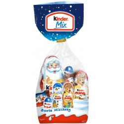 Kinder Mix Коледни фигурки 132g