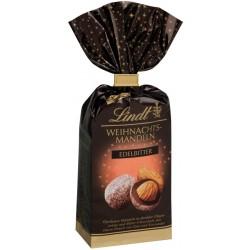 Lindt Коледни бонбони Бадеми в тъмен шоколад 70% 100g