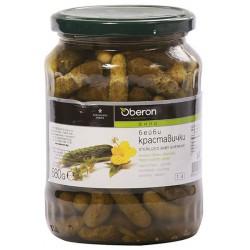 Краставички Oberon бейби 680g