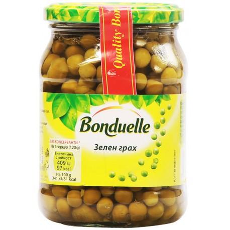 Зелен грах Бондюел 580 ml
