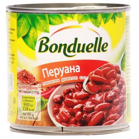 Червен фасул в сос чили Peruana Бондюел 425 ml