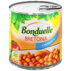 Зрял фасул с доматен сос Bretona Бондюел 425 ml