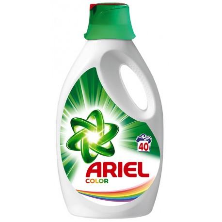 Течен препарат за пране за цветни тъкани Ariel 2.2l