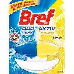 Ароматизатор Bref WC Дуо Актив Lemon 60ml комплект