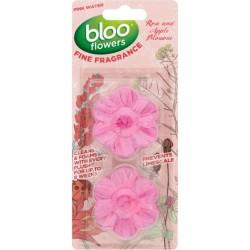 Таблетки за WC BLOO Розова вода 2бр.
