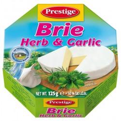 Сирене Brie Prestige 50% 125g Билки и чесън