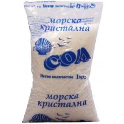 СОЛ МОРСКА КРИСТАЛНА ПРОМАР 1kg