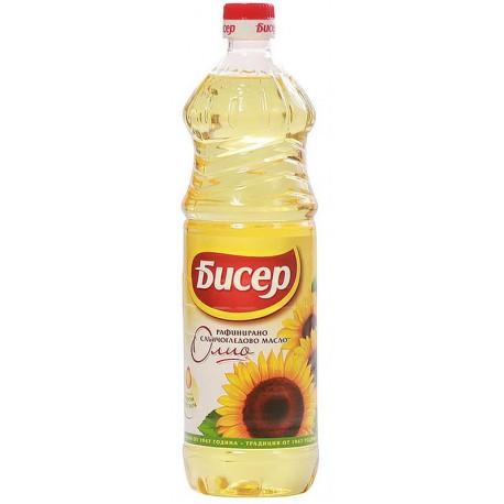 Слънчогледово олио Бисер 1l
