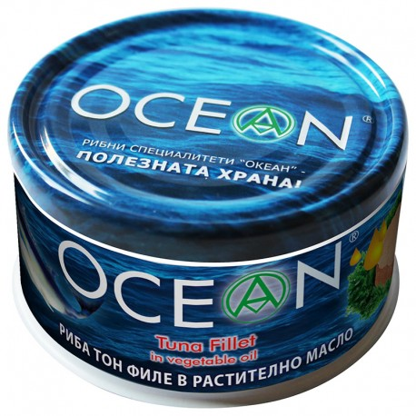 Риба тон- филе в растително масло OCEAN