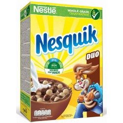 Nestle Корнфлейкс Нескуик Дуо 325g