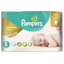 Пелени Pampers Premium Care 11-18kg 44бр. Размер 5