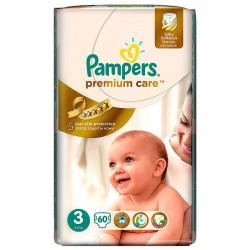 Пелени Pampers Premium Care 4-9kg 60бр.