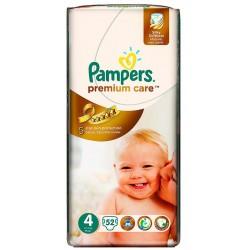 Пелени Pampers Premium Care 8-14kg 52бр.