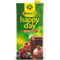HAPPY DAY Сок Червен мултивитамин 100% 2l
