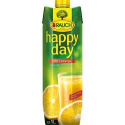 HAPPY DAY СОК 100% ПОРТОКАЛ с парченца плод 1l