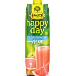 HAPPY DAY Сок Червен грейпфрут 100% 1l