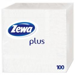 Салфетки ZEWA Plus Бели 100бр.