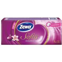Носни кърпички Zewa Softis Aromathera 10x9бр. 4пластови